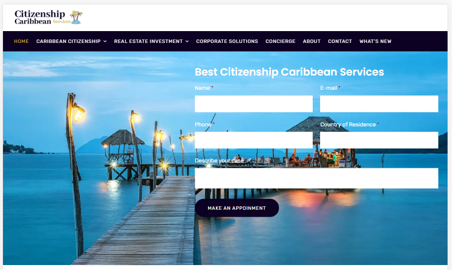 Caribbean Citizenship Services - Come discover a new home in the vibrant Caribbean islands!