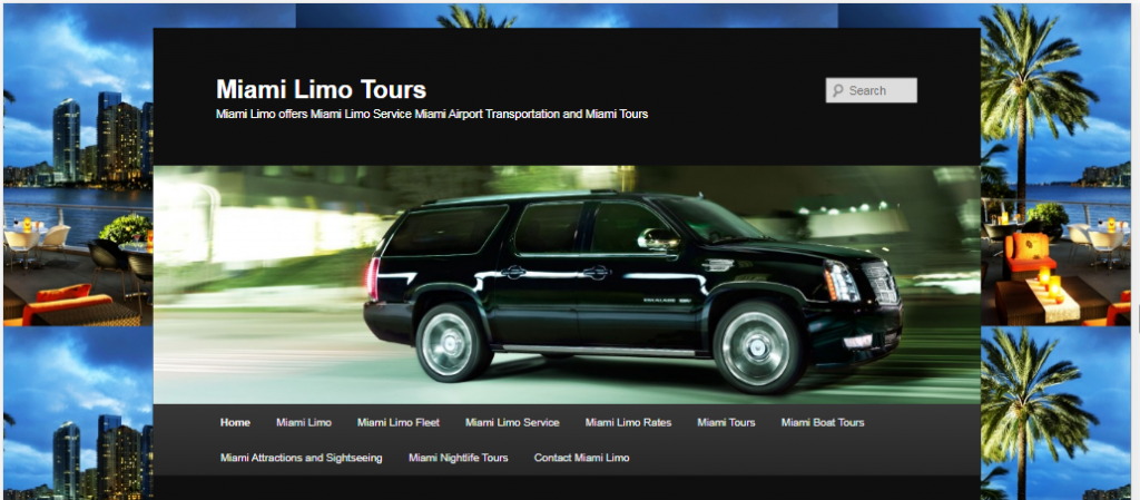 Our company, Miami Limo Tours, provides luxury VIP services to our customers by helping them explore the most stunning Miami attractions and hotels in style.