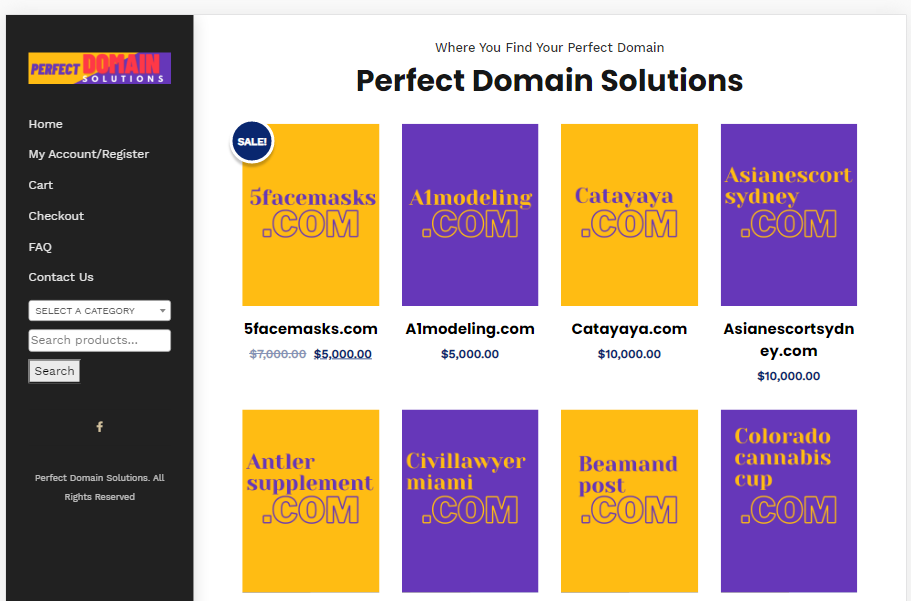 Perfect Domain Solutions offers competitive domains that perfectly fit your business.