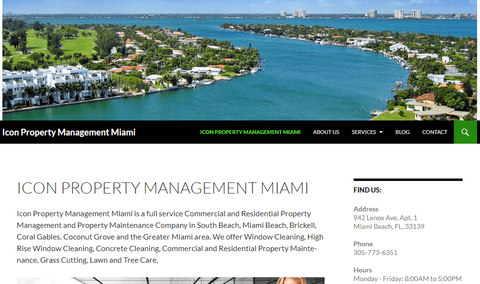 We offer Commercial and Residential Property Management and Maintenance throughout Miami.