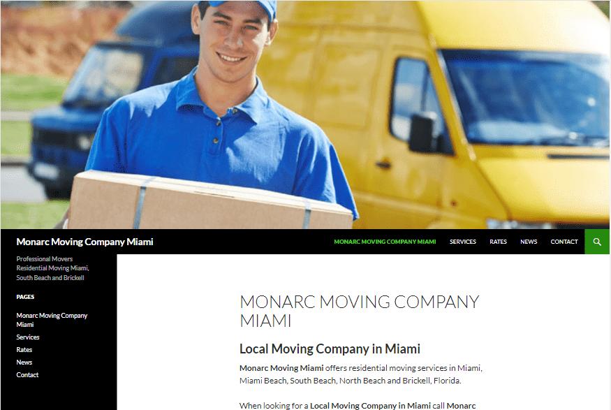 Local Moving Company in Miami